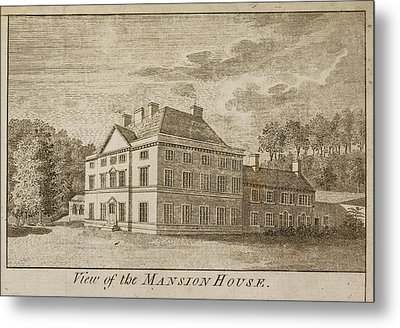 Mansion House Of Close House Estate Metal Print