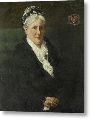 Maria Hermina Heemskerk 1827-1908 Metal Print by Litz Collection