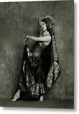 Martha Graham Dancing Metal Print