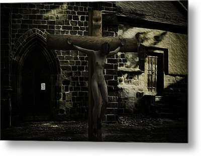Martyr Of The Church Metal Print by Ramon Martinez