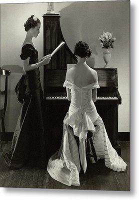 Mary Taylor And Mrs Robert H Mcadoo Metal Print