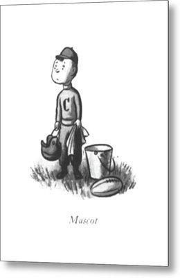 Mascot Metal Print