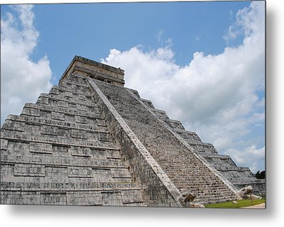 Metal Print featuring the photograph Maya Architecture by Robert  Moss