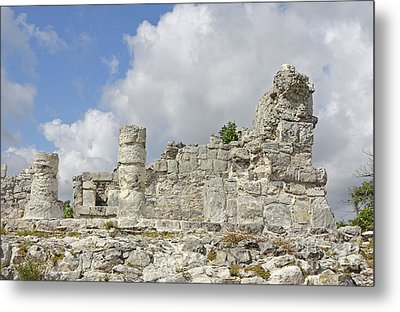Mayan Ruins Metal Print by Charline Xia