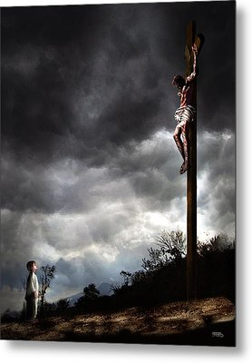 Me And Jesus Metal Print