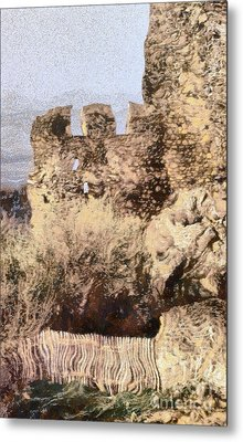 Medieval Castle Of Holloko Hungary Metal Print by Odon Czintos