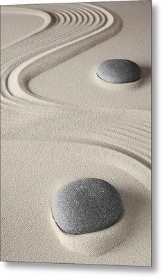 Meditation Background  Metal Print