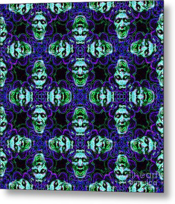 Medusa Abstract 20130131p138 Metal Print by Wingsdomain Art and Photography