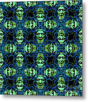 Medusa Abstract 20130131p90 Metal Print by Wingsdomain Art and Photography