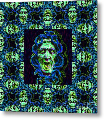 Medusa's Window 20130131p90 Metal Print by Wingsdomain Art and Photography