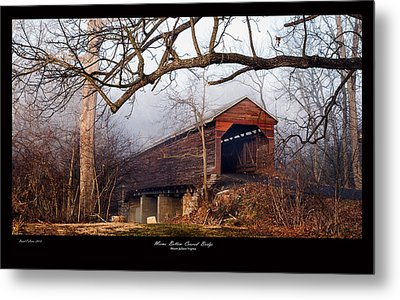Meems Bottom Bridge 7 Metal Print