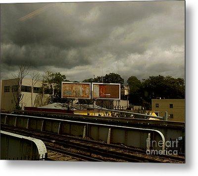 Metal Print featuring the photograph Metropolitan Transit by Miriam Danar