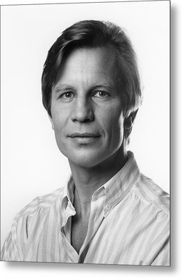 Metal Print featuring the photograph Michael York by Mark Greenberg