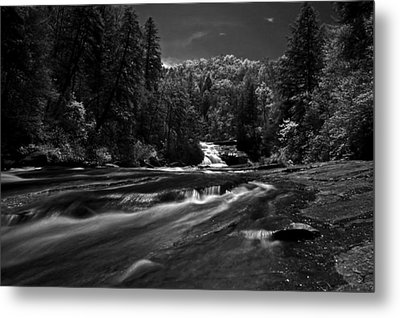 Metal Print featuring the photograph Might Get Wet by David Stine