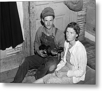 Migrant Couple, 1940 Metal Print by Granger