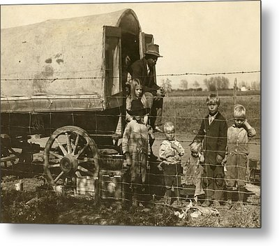 Migrant Family, 1915 Metal Print by Granger
