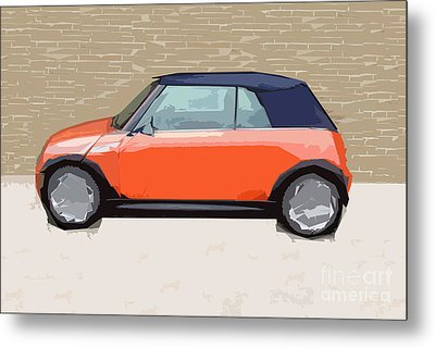 Mini Makeover Metal Print by Bruce Stanfield