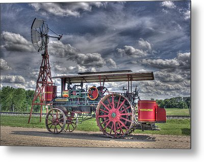 Minneapolis At The Windmill Metal Print by Shelly Gunderson