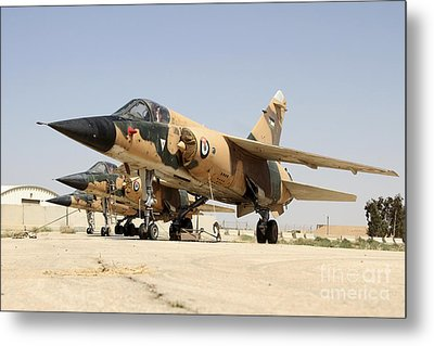 Mirage F.1 Fighter Planes Of The Royal Metal Print by Ofer Zidon