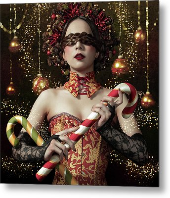 Mistress Of The Bright Night Metal Print