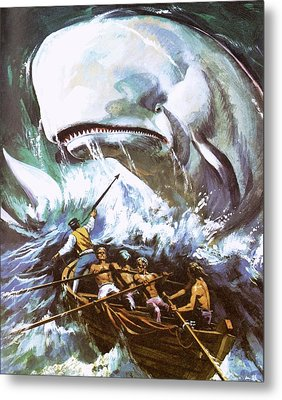 Moby Dick Metal Print by English School