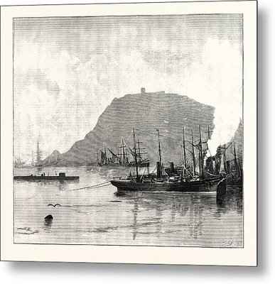 Monjuich, From The Harbour Metal Print