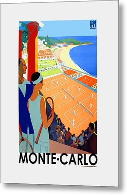 Monte Carlo 1930 Metal Print by Mark Rogan