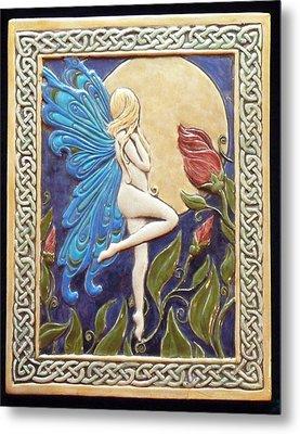 Moon Fairy Metal Print by Shannon Gresham