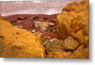 Moonstone Beach Metal Print by Sharon Costa