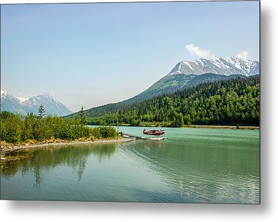 Moose Pass In Alaska Metal Print