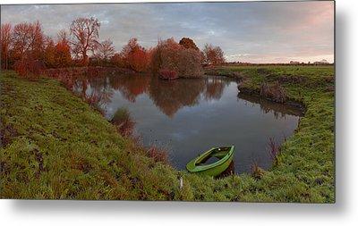 Morning Light Lenton Fishing Pond Metal Print