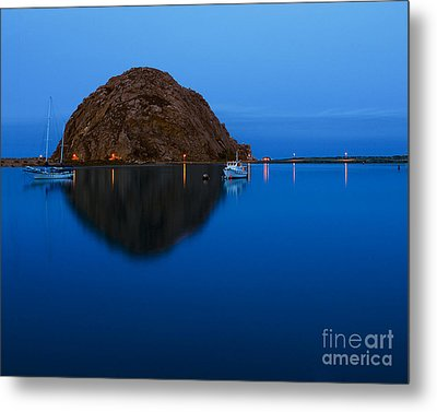 Morro Bay Calm Morning Metal Print