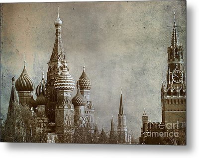 Moscow Metal Print by Bernard Jaubert