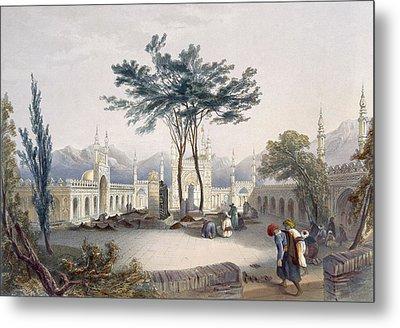 Mosque Of Goolaum Hoossein Huzrut-jee Metal Print by James Rattray