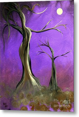 Mother And Child Metal Print by Alys Caviness-Gober