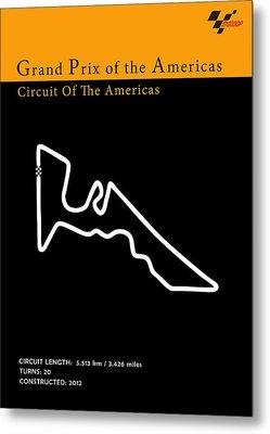 Moto Gp Of The Americas Metal Print by Mark Rogan