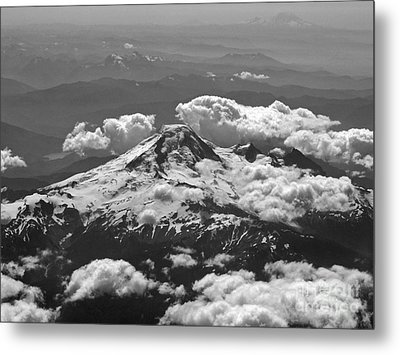 Metal Print featuring the photograph Mount Baker by Inge Riis McDonald