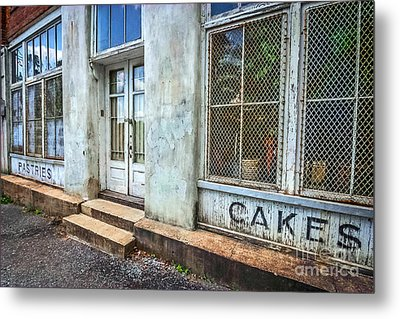 Movie ''hunger Games'' Bakery Metal Print by Marion Johnson