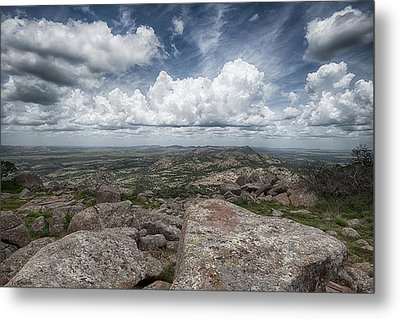 Mt. Scott Metal Print