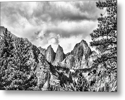 Mt. Whitney Metal Print by Peggy Hughes