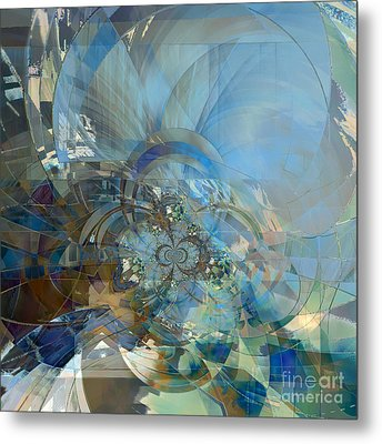 Multiple Dimensions Metal Print by Ursula Freer