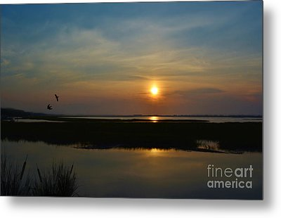 Murrells Inlet Sunrise Metal Print