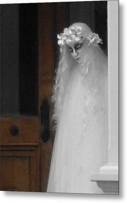 My Name Is Lisa Metal Print by Val Arie