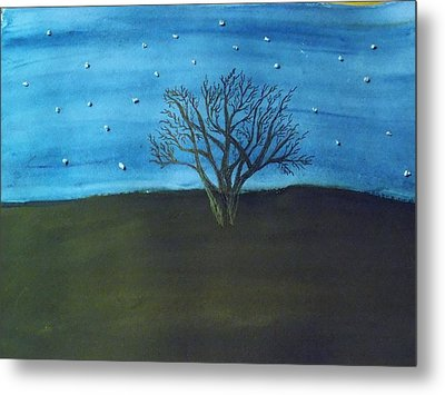 My Starry Sky Metal Print