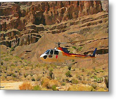 My Taxi To The Grand Canyon And Back Metal Print by John Malone