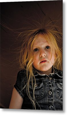 Myah Metal Print by Joel Loftus
