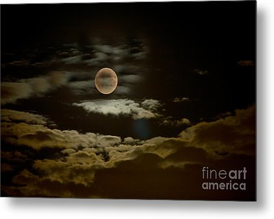 Mysterious Moon Metal Print by Boon Mee