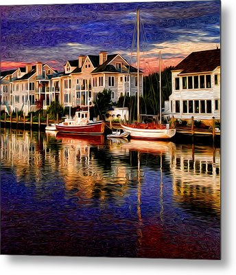 Mystic Ct Metal Print by Sabine Jacobs