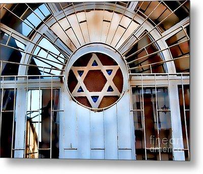 Nachlaot Synagogue Metal Print by Elena Comens