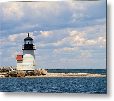 Nantucket Harbor Metal Print